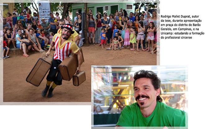 Tem diploma no circo