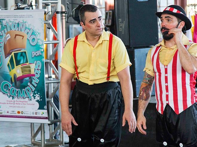 Los Circos Los encerra temporada do espetáculo 'Circulando por Campinas'