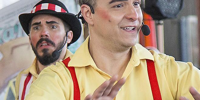 Los Circos Los aterriza novamente em Campinas