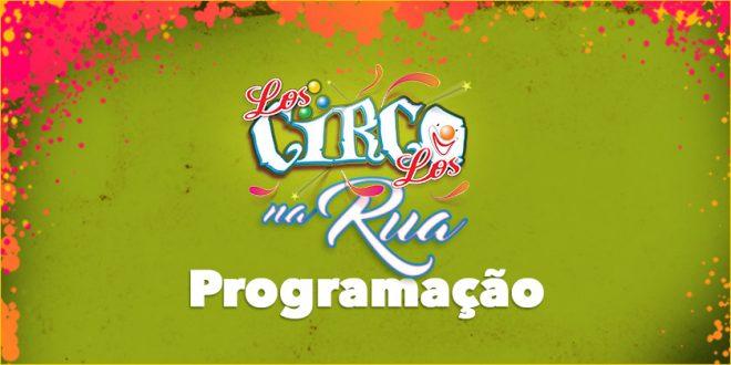 Los Circo Los na Rua – Programação