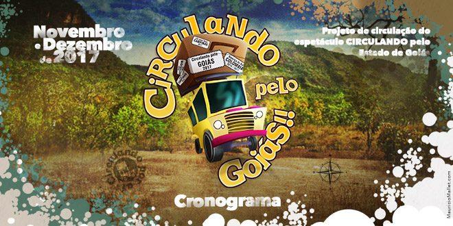 Circulando pelo Goiás – Cronograma