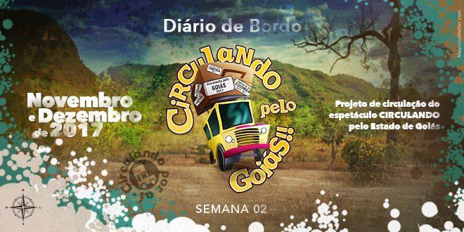 Diário de Bordo – Circulando pelo Goiás